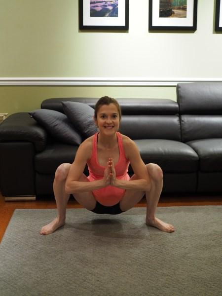 Yoga Wide Leg Squat