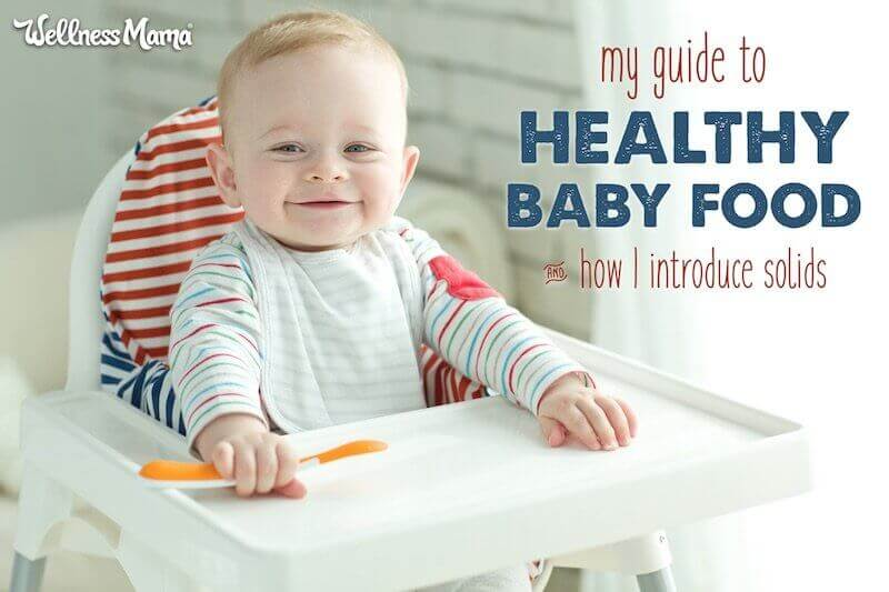 Guide to Healthy Baby Food Wellness Mama