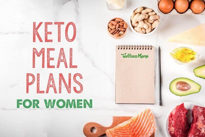 Keto Meal Plan for Women + Easy Recipes Wellness Mama