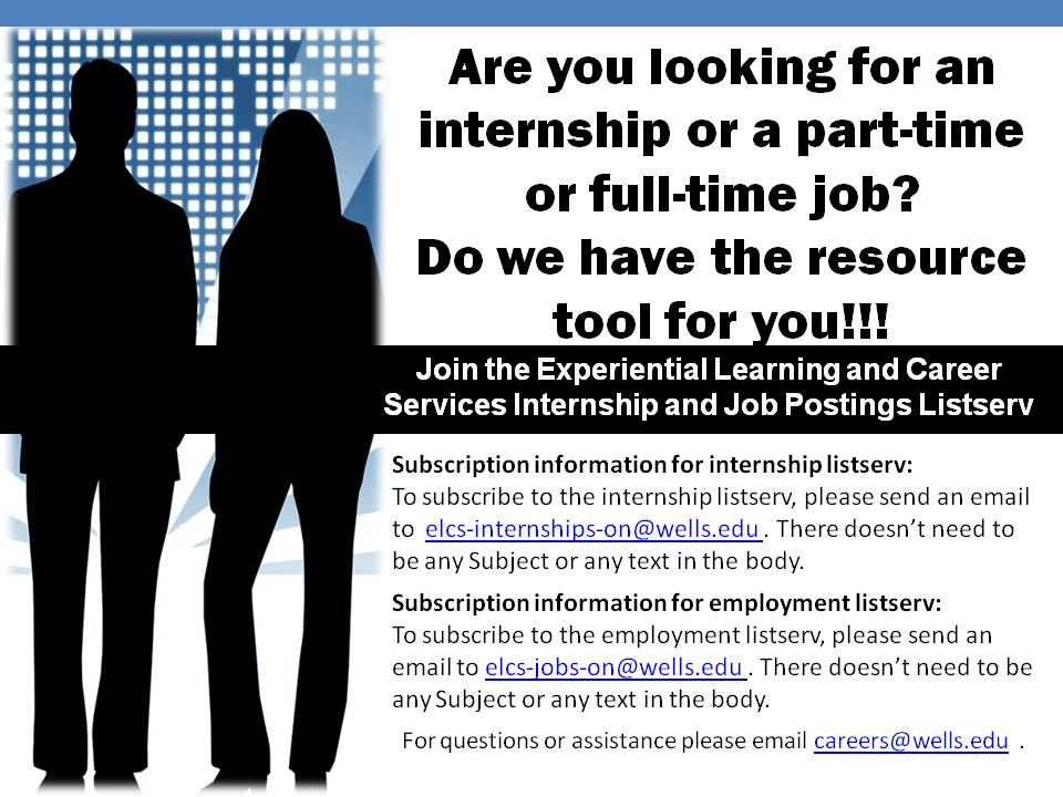 Are you looking for an internship or employment opportunities - looking for an internship