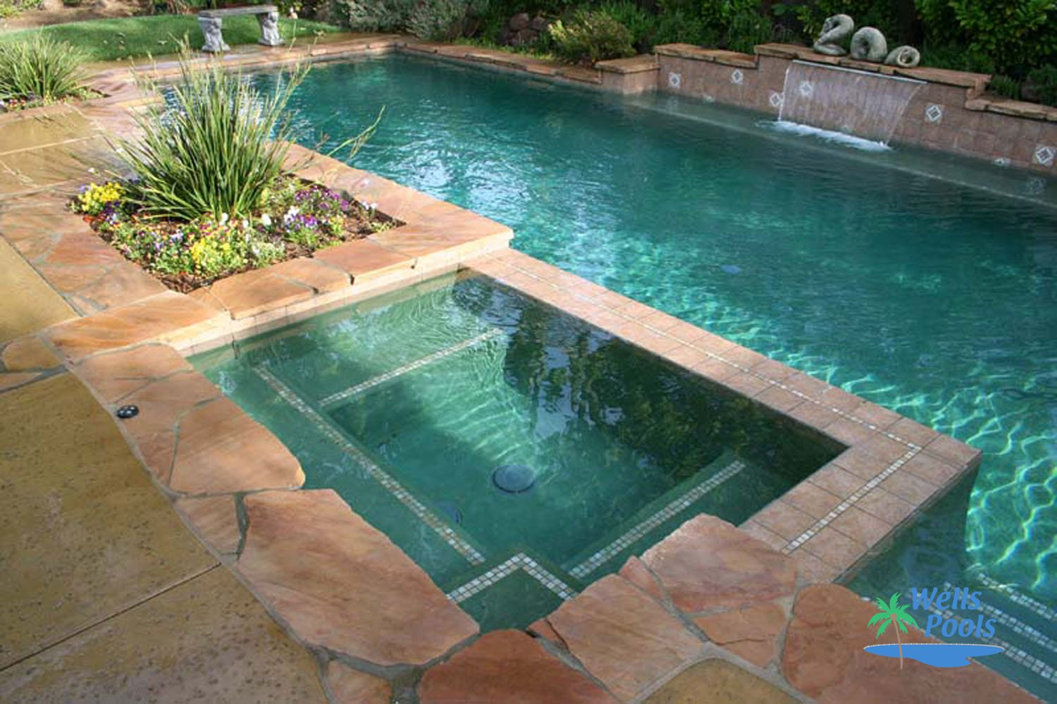 Jacuzzi Pool In Ground Inground Spas Construction Sacramento Folsom El Dorado Hills
