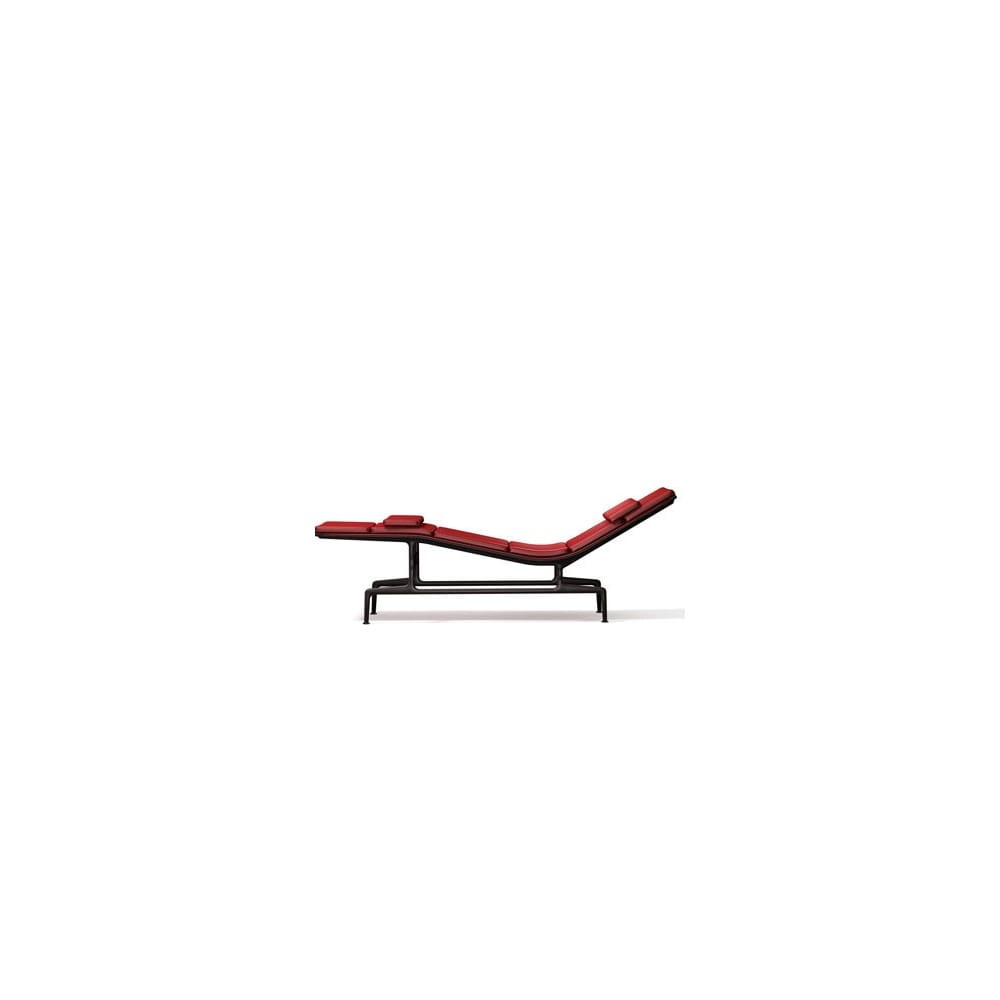 Chaise Vitra Vitra Eames Aluminium Group Es 106 Soft Pad Chaise