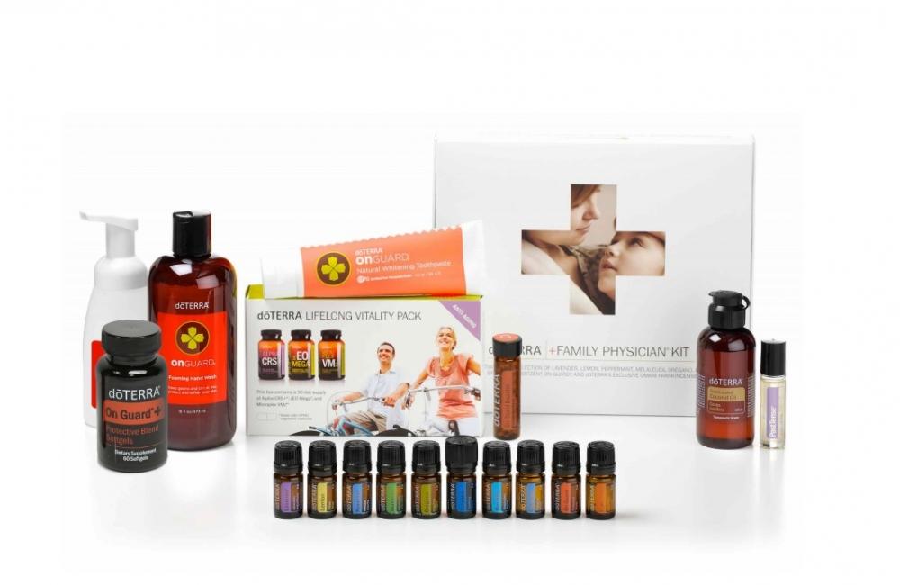 We Love Essential Oils - Family Wellness Kit