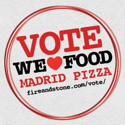 Vote for us button