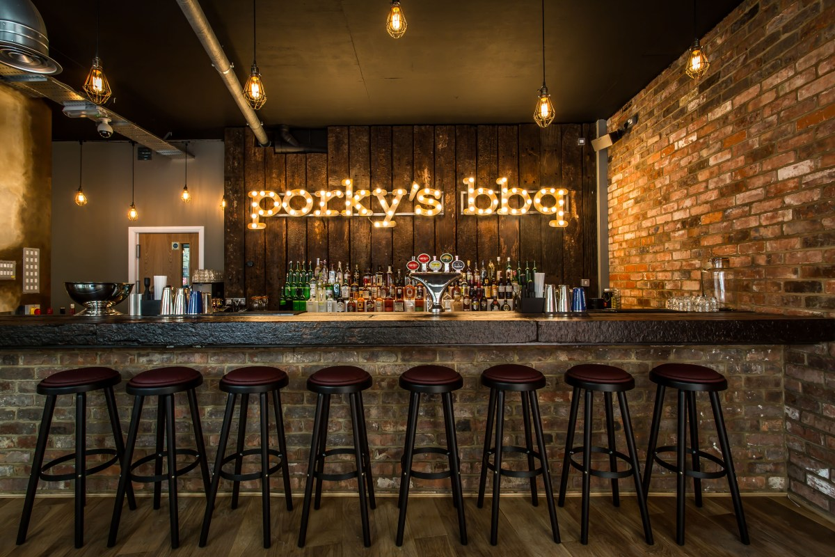 Great Ribs and that's no porky pie | Porky's Bankside, 18 New Globe Walk, London, SE1 9DR