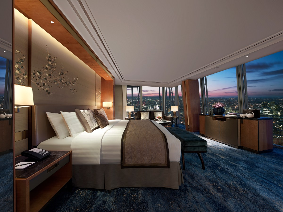 Undoubtably the best views from a hotel, ever | Shangri-la hotel & TĪNG at The Shard | 31 St Thomas Street, London, SE1 9QU