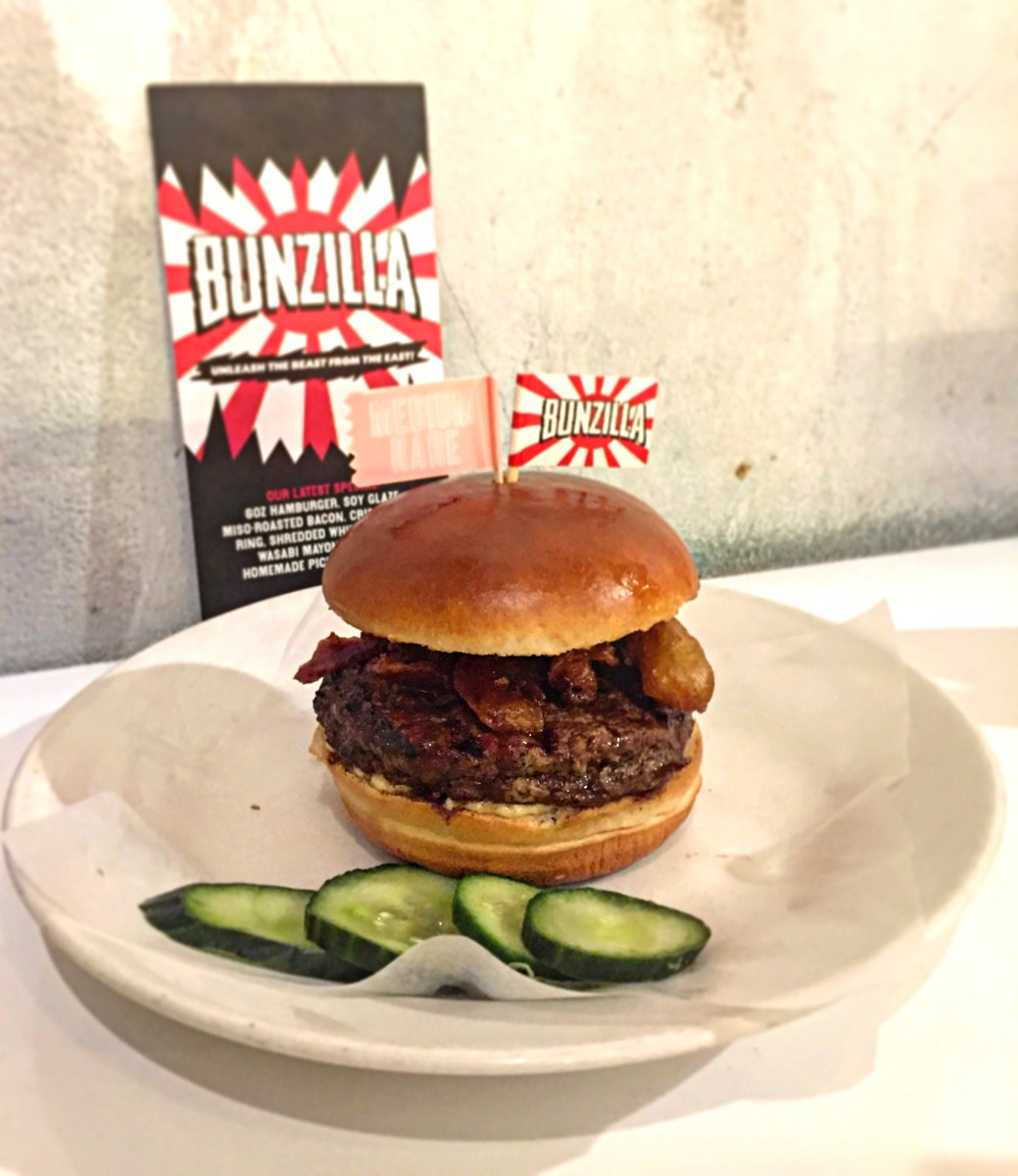 There's A New Monster In Town | Bunzilla, The New Special From Byron Hamburgers