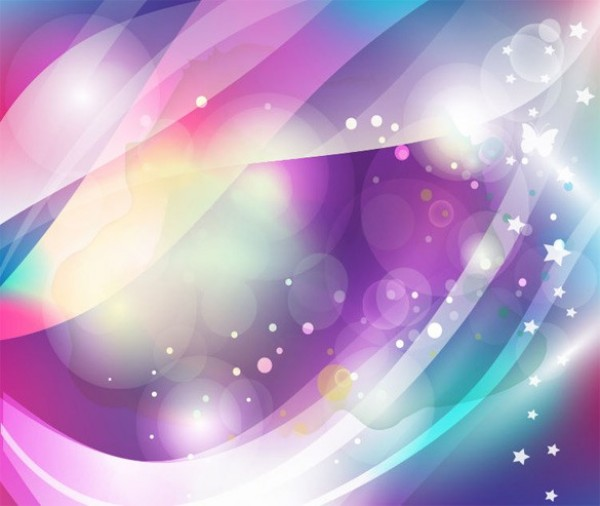 Lamp Vlinder Dreamy Butterfly Bokeh Abstract Vector Background - Welovesolo