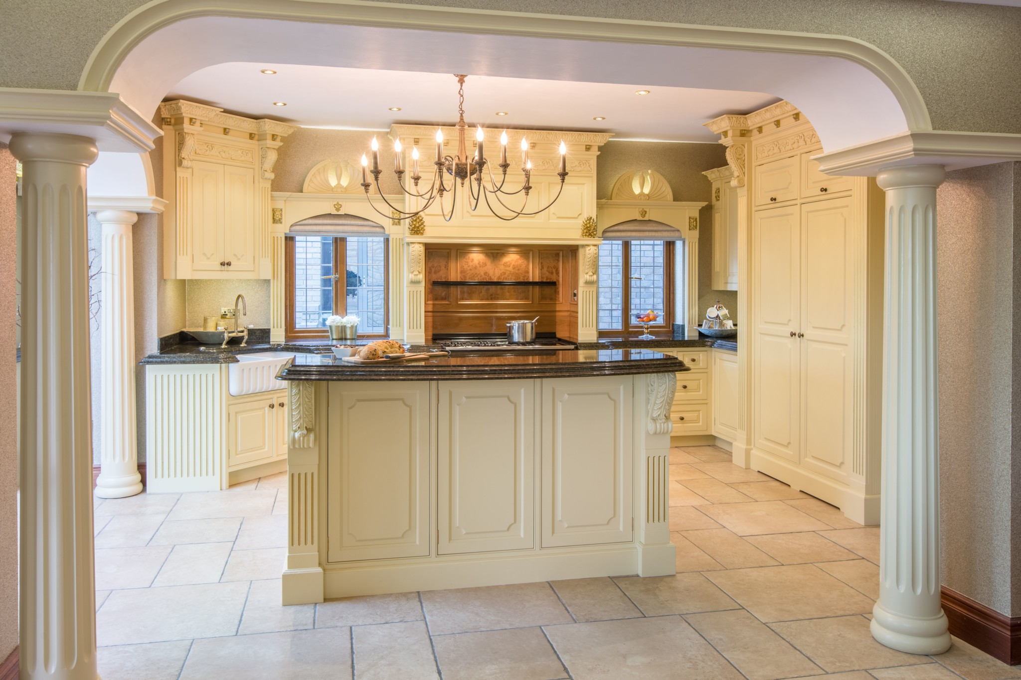 Classical Kitchens Painted Manor House Classical Kitchen Reading Mark Stone S Welsh