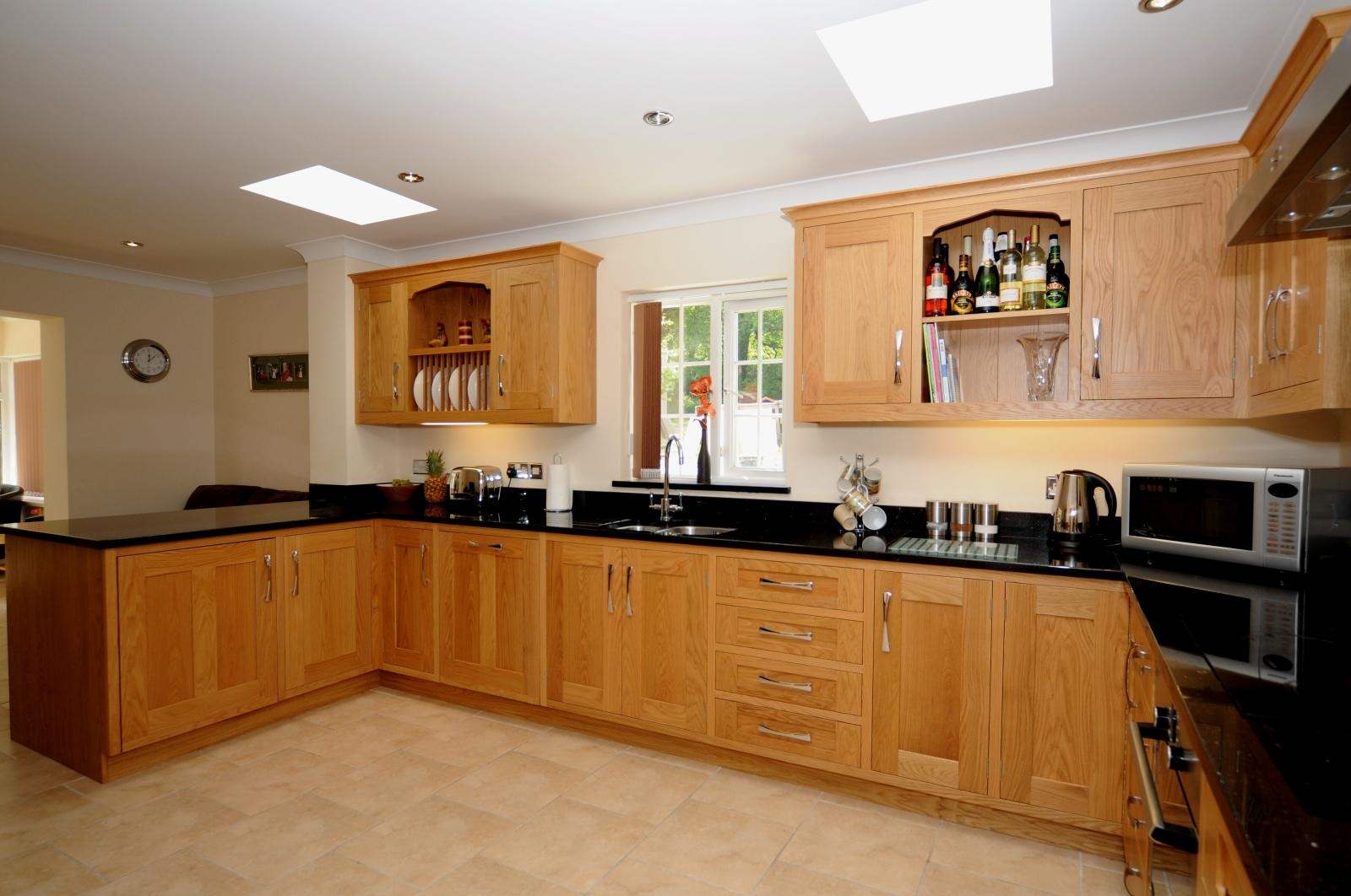Kitchen Design Images Kitchens Oak Shaker Kitchen St Davids