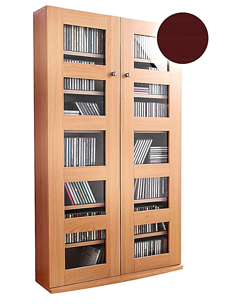 Cd Schrank Kernbuche Cd Wandregal Buche Cd Dvd Regal Bücherregal Wandregal