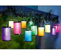 LED-Lichterkette Lampions jetzt bei Weltbild.de bestellen