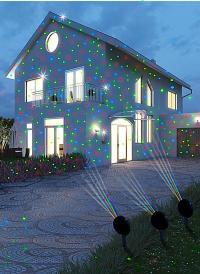 Magic Vision Multicolor-LED-Strahler 3er-Set | Weltbild.de