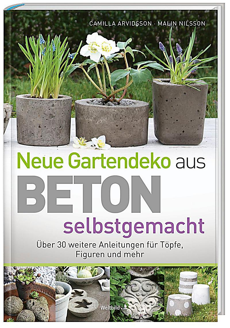 gartendeko aus beton selbstgemacht. Black Bedroom Furniture Sets. Home Design Ideas