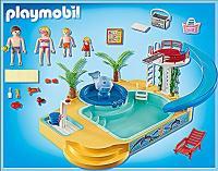 PLAYMOBIL 5433 Summer Fun - Erlebnisbad mit Sprudelwal ...