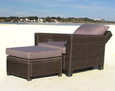 Sessel Mit Liegeposition Grasekamp Rattan Lounge Loungesessel 86cm Sessel Sofa Relaxsessel