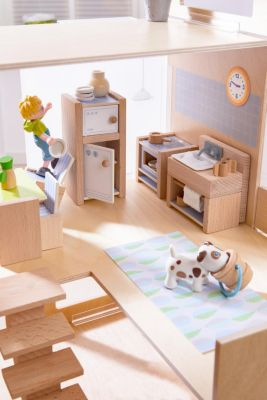 Haba Little Friends Esszimmer Haba Little Friends Puppenhaus Möbel Küche Weltbild Ch