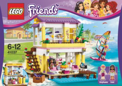 Lego Friends Badezimmer Lego 41037 Friends Stephanies Strandhaus Weltbild De