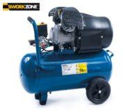Workzone Kompressor 50 Liter im Hofer Angebot [KW 9 ab 1.3 ...