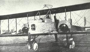 Früher Caproni Ca 3 Bomber-Doppeldecker