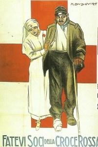italienische Rot-Kreuz-Sammlung