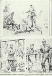 Skizzen vom westlichen Kriegsschauplatz