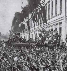 Hitlers Empfang in Berlin