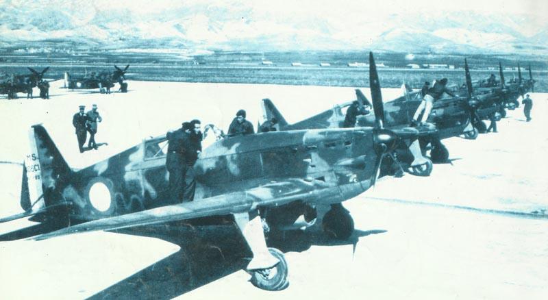 Neue Morane MS 406 Jagdflugzeuge