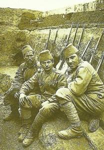 bosnische Soldaten