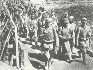 Russische Gefangene am Narotschsee