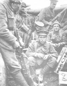 Grenadiere der britischen Scots Guards