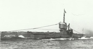 btitische U-Boot E54
