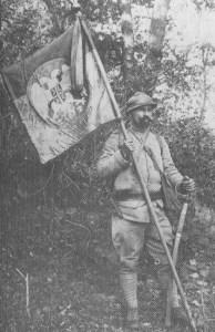 Serbischer Kavallerist