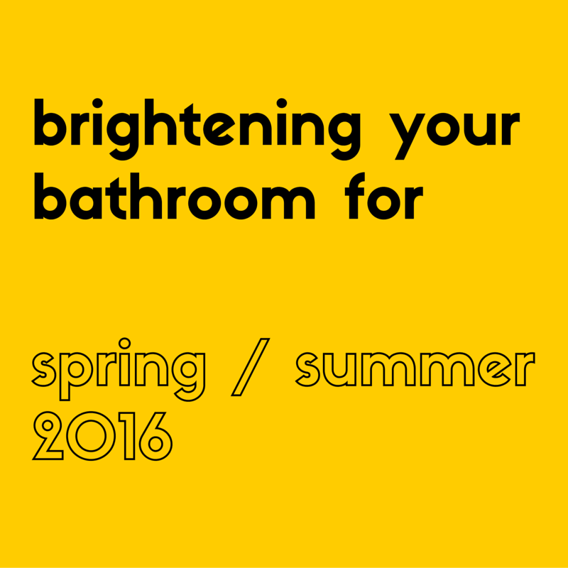 brightening your bathroom