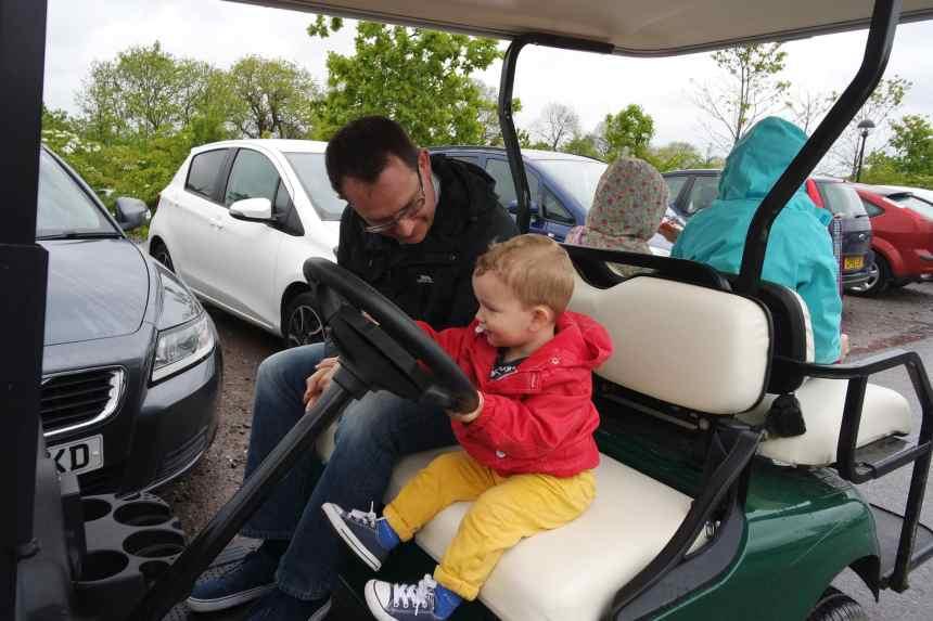 bluestone golf buggy