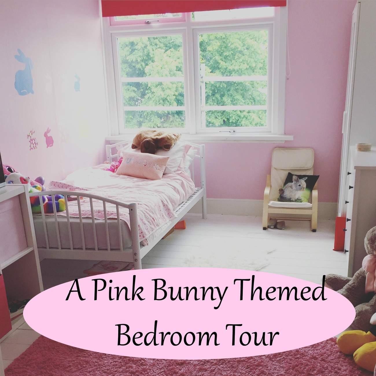 pink bunny bedroom