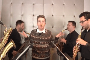 "Happy Birthday – Altered Images – ""German"" Sax Quartet Version BirthdaySax  BirthdaySax (Video)"