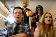Fallon Tonight – Christina Aguilera Beautiful – Classroom Instruments (Video)