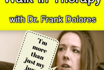 """Walk-In Therapy with Dr. Frank Dolores – Patient #7: Victoria, """"I'm more than just my jump suits."""" (Video)"""