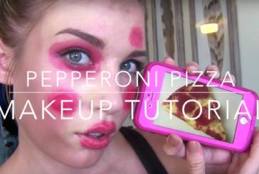 Pepperoni Pizza Makeup Tutorial (Video)