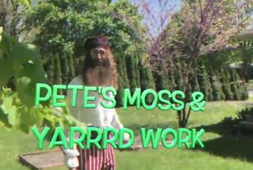 Pete's Moss & Yarrrd Work (Video)