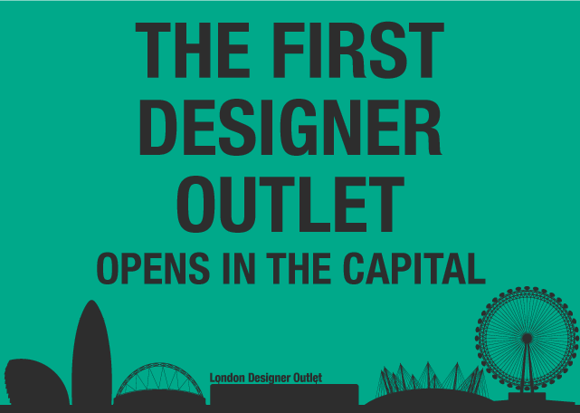 London Designer Outlet Opens In 6 Weeks