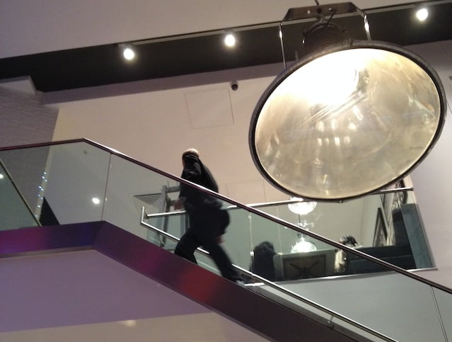 Wembley Pizza Express interior staircase