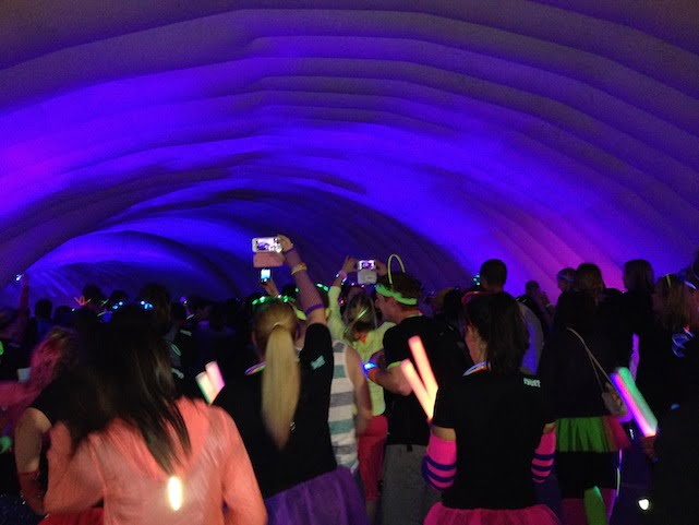 Electric run london's tunnel