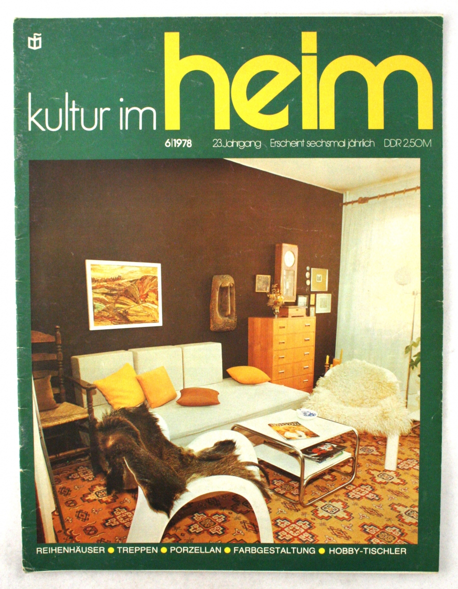 Do It Yourself Zeitschrift The Magazine Kultur Im Heim Wende Museum
