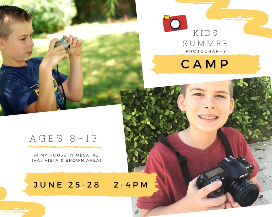 photography class for kids Wendi Lee Photography