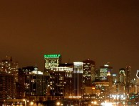 Green skyline
