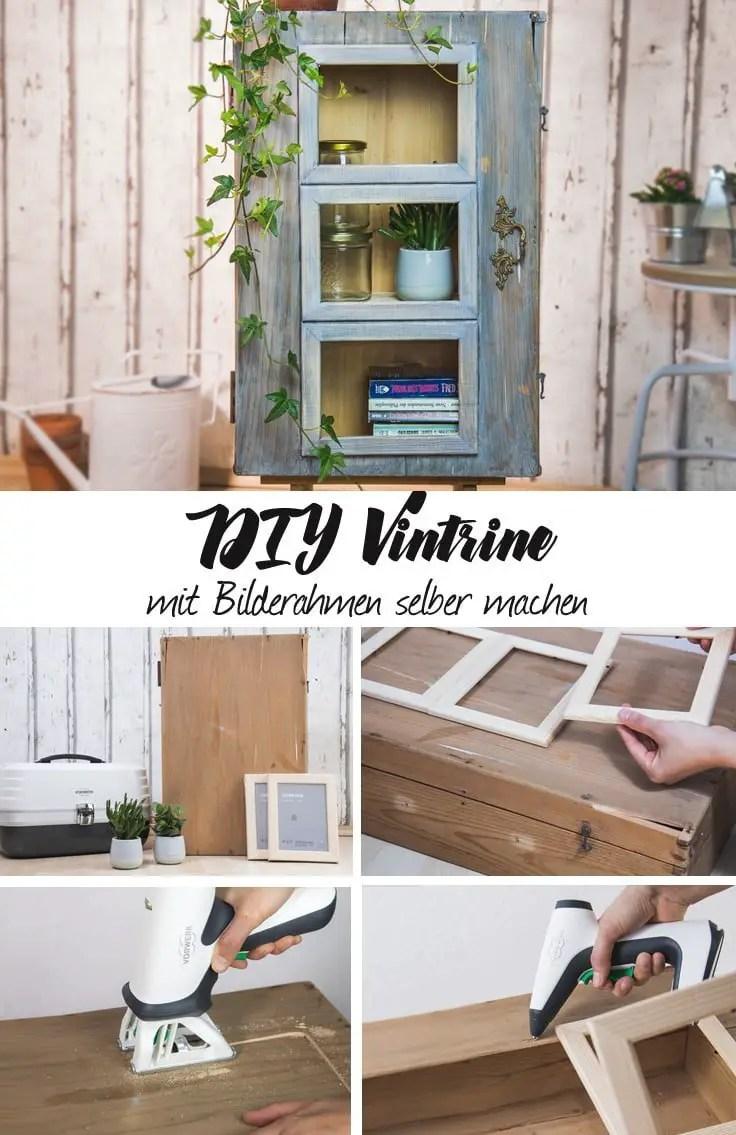 upcycling möbel selber bauen | diy vitrinenschrank aus holzmöbel