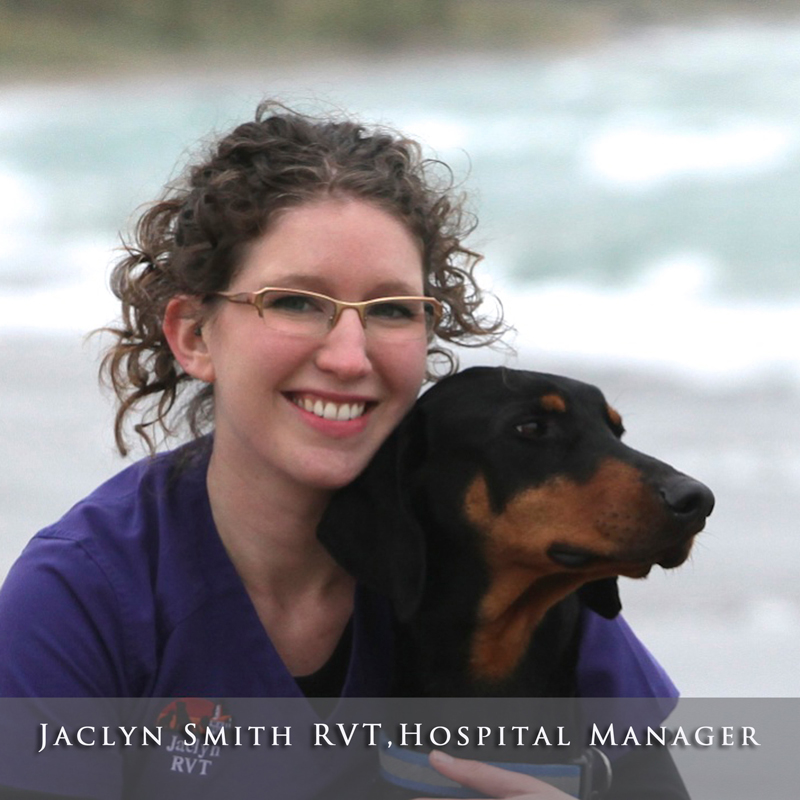 Jaclyn Smith RVT, Hospital Manager