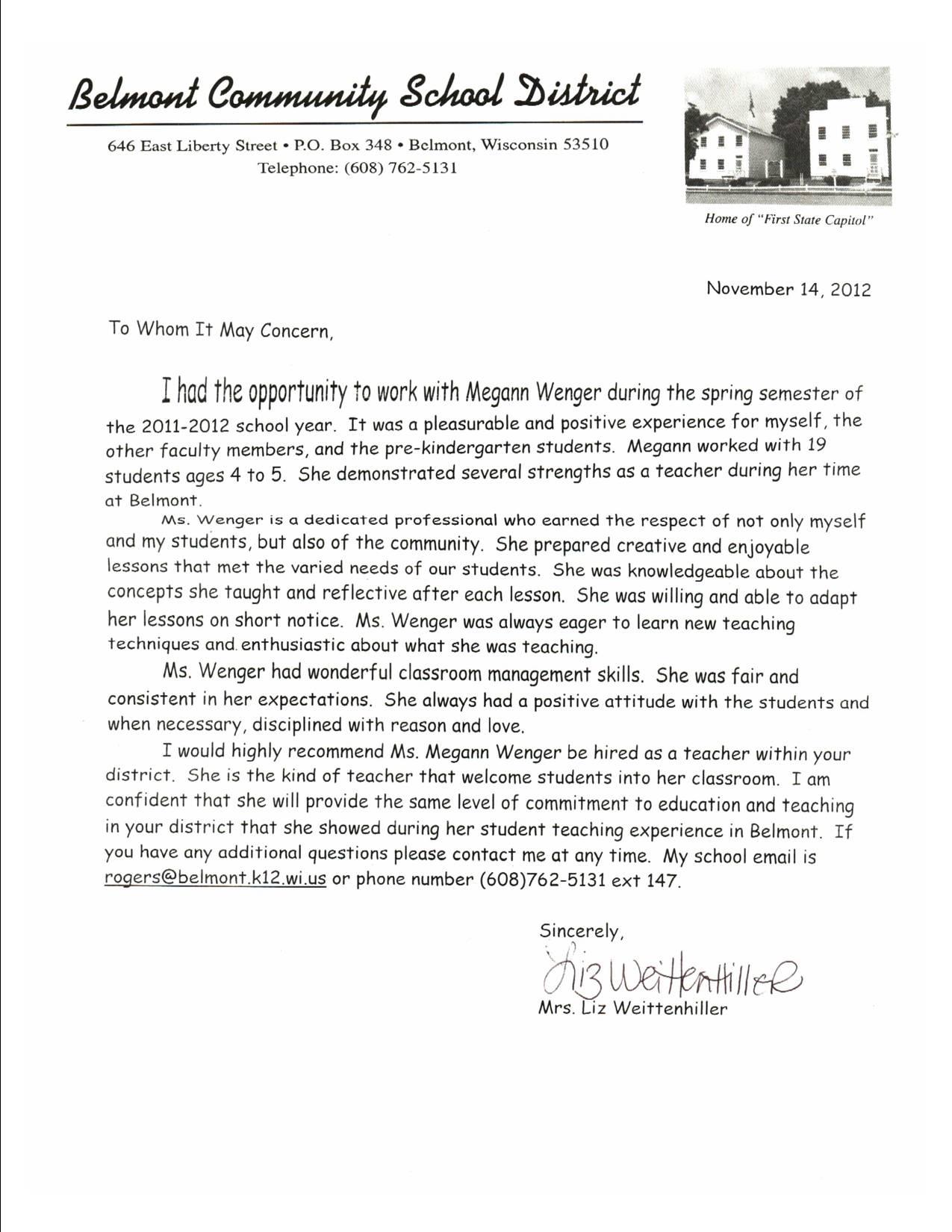 recommendation letter preschool teacher professional resume recommendation letter preschool teacher recommendation letter 4 a pre k a to z teacher stuff kindergarten recommendation